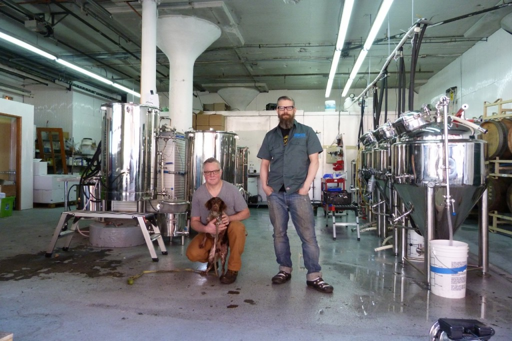 Anthony Accardi and Rob Kohl of Transmitter Brewery