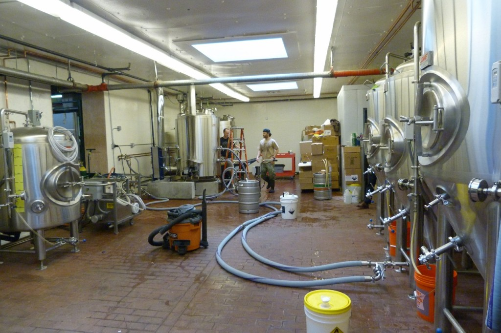 Bigger brewhouse, more fermenters, lotsa good beer
