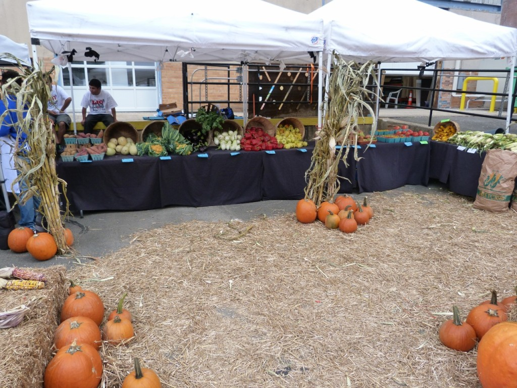 Dining Scene?  You can also cook at home with fresh vegetables from the stand at LIC Flea