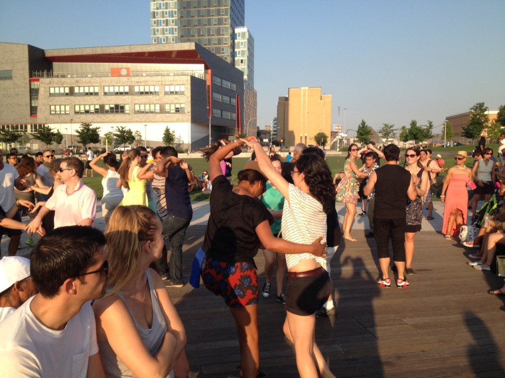 They're dancing near Borden over the return of the Crabhouse