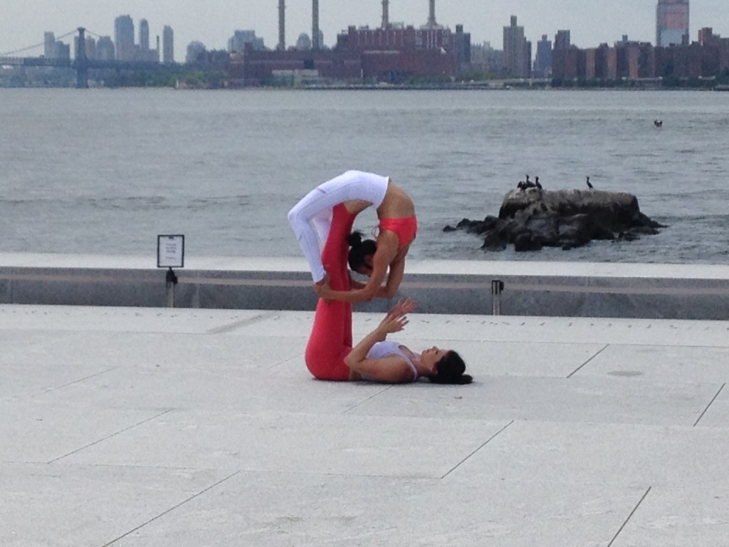 Bending over backward on Roosevelt Island, but not LIC