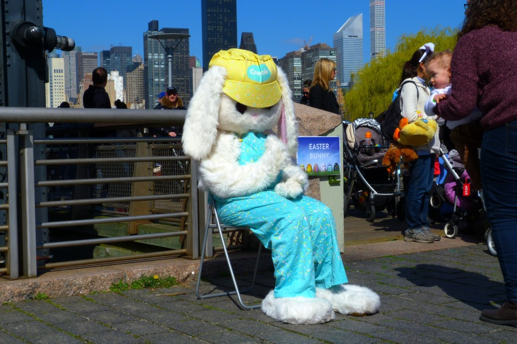 The Lonely Easter Bunny of Gantry Pier
