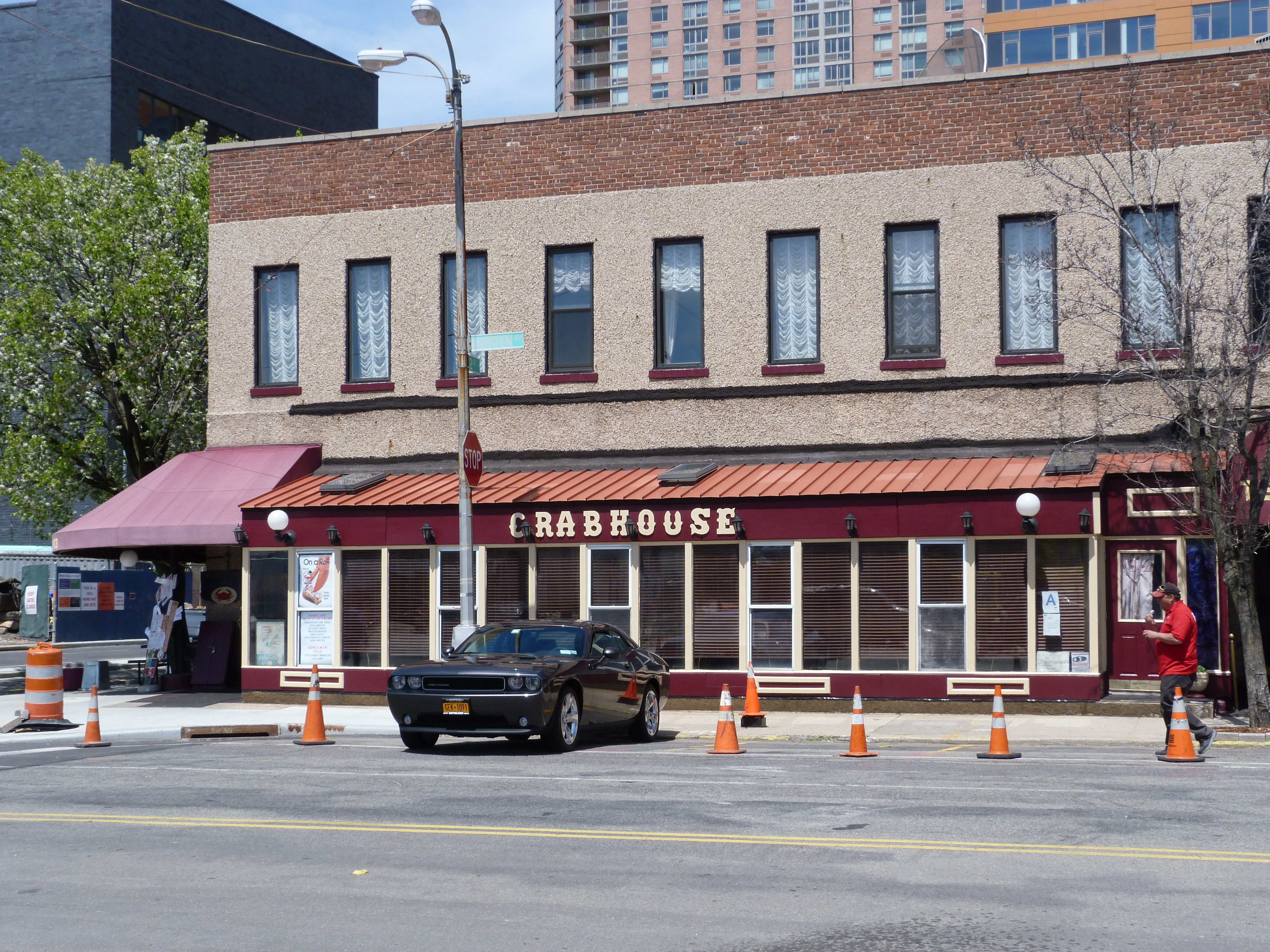 A lot of changes coming, but there's still the Crabhouse