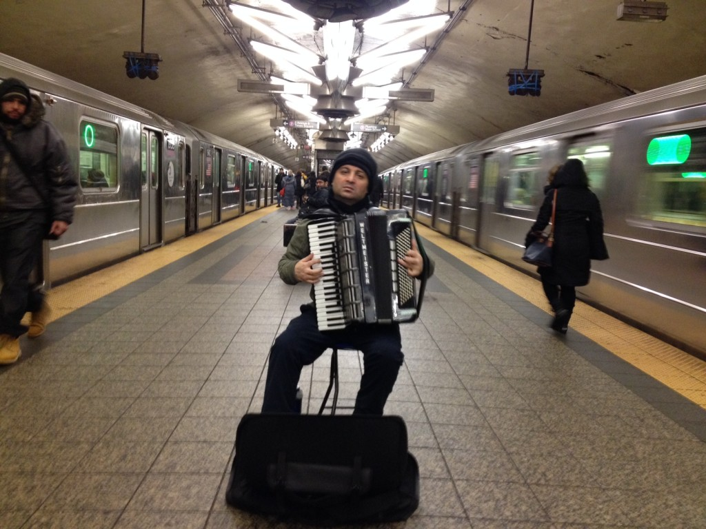 Open doors, cue accordion, and you're in your own Woody Allen movie