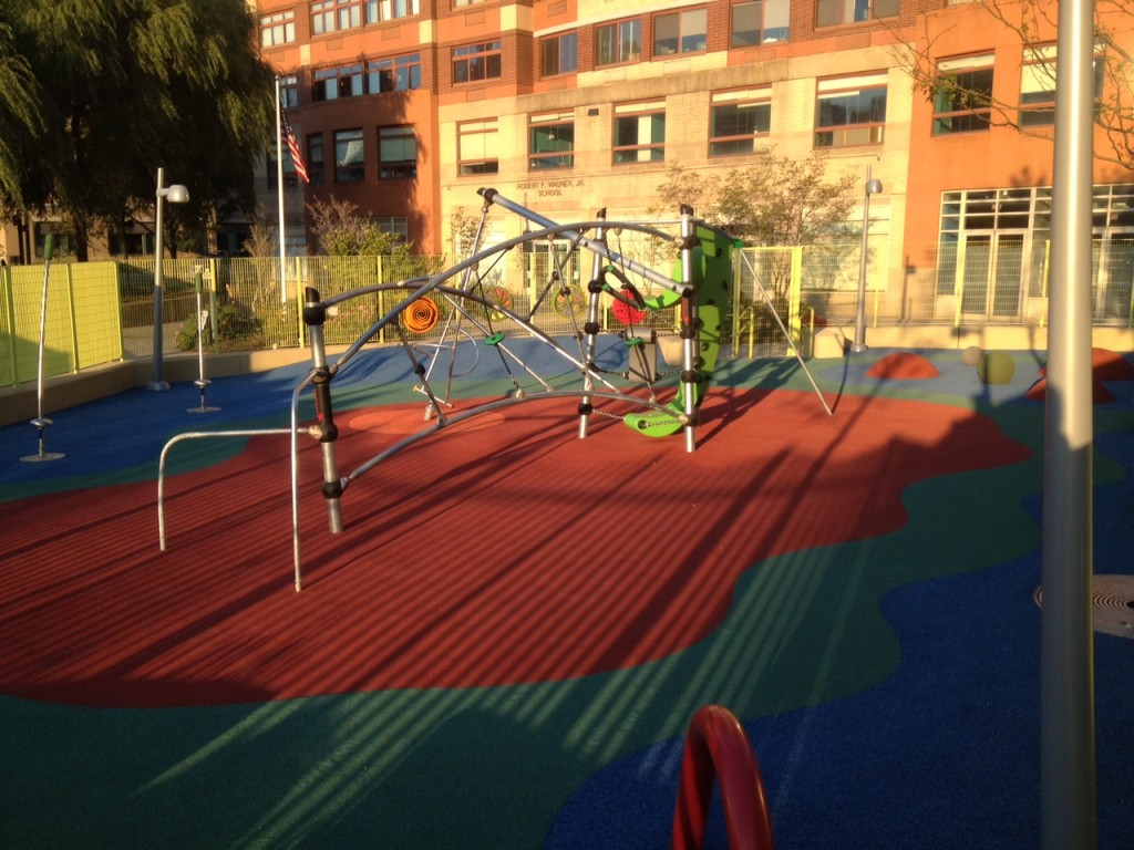New playground for little kids, now we we need one for big kids