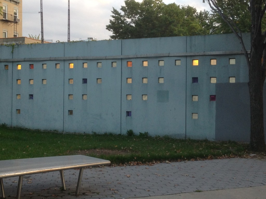 The Wall of Fortune and its spooky colors