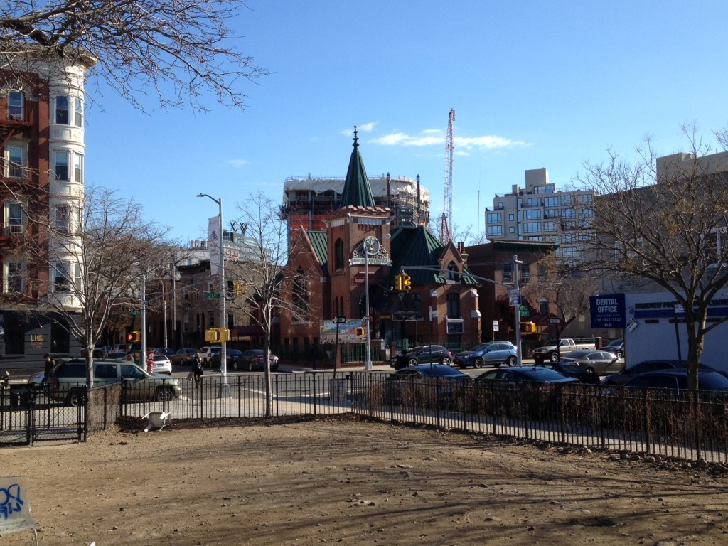 5Pointz about to cast its 40+ story shadow on Iglesia de Cristo and Murray Park, and the benefits are?