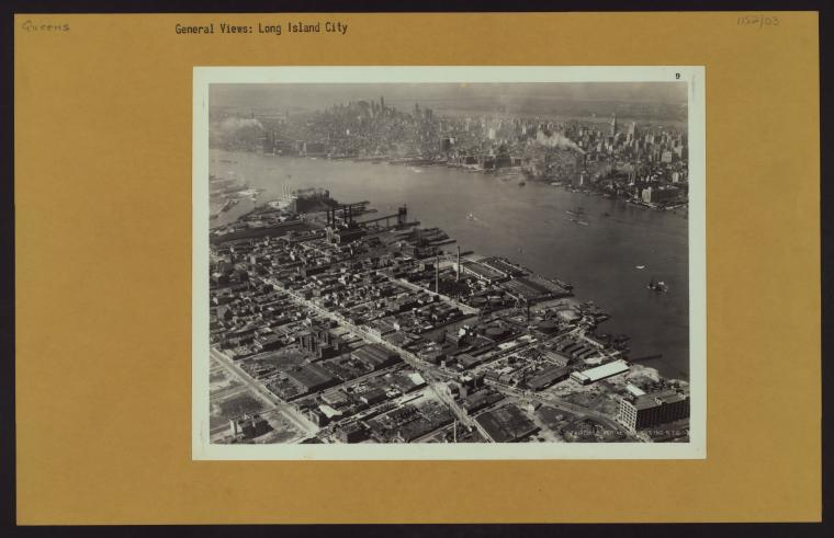 Not your grandpappy's Hunters Point - courtesy NYPL